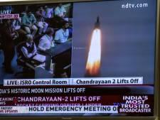 Indiase raket alsnog vertrokken richting maan