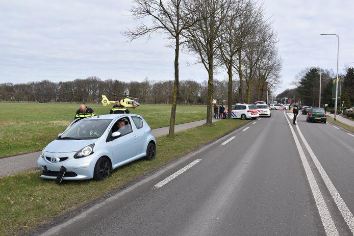 Meisje geschept onderweg naar McDonald's aan de Rijksweg tussen Nijmegen en Malden.