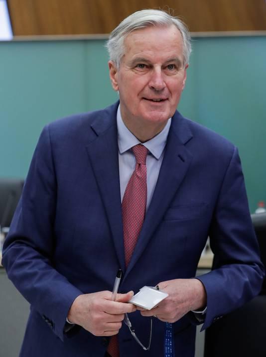 EU-onderhandelaar Michel Barnier.