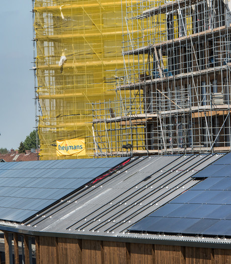 1.000 vierkante meter zonnepanelen op dak nieuwe garage Willemspoort