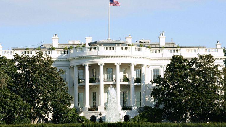 Niets aan de hand bij het Witte Huis Beeld afp