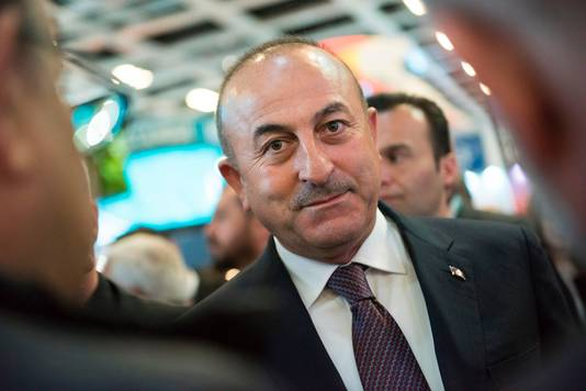 Minister Mevlut Cavusoglu