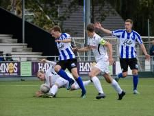 Geen toeschouwers, maar aan doelpunten ontbreekt het niet in Hengelose derby