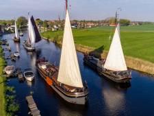 Redding Mattenschippersrace, de zeilwedstrijd voor klassieke vrachtschepen vanuit Blokzijl