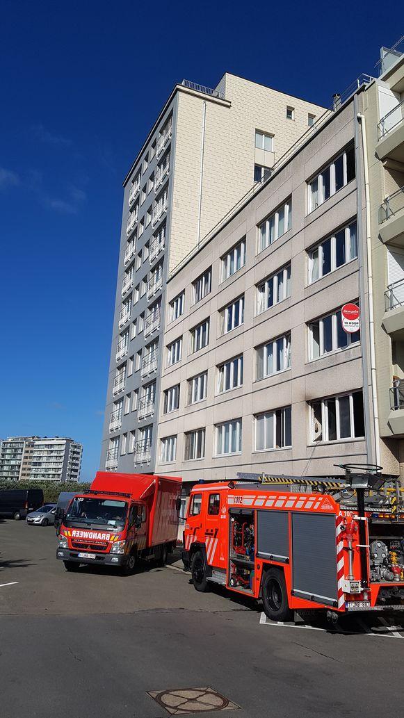 Het slachtoffer woonde op de eerste verdieping van residentie Residhotel.