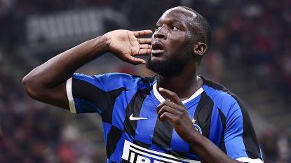 Romelu Lukaku scoort in Milanese derby, sterk Inter wint met 0-2 en blijft leider