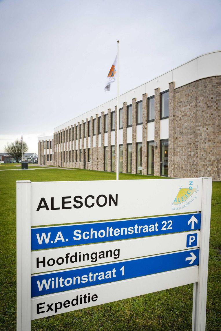 De sociale werkplaats Alescon in Assen. Beeld null