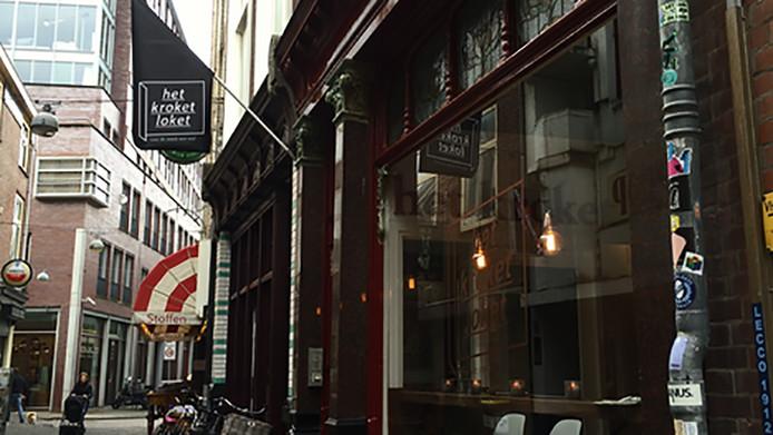 Het Kroket Loket in Den Haag.