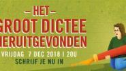 Heruitgevonden Groot Dictee verovert bibliotheken overal in Vlaanderen