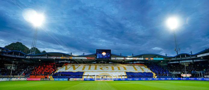Het stadion van Willem II.