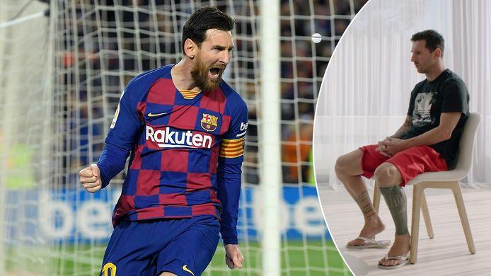 Messi blijft bij FC Barcelona.