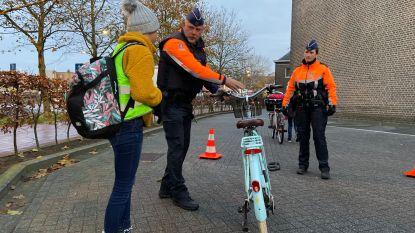 Overgrote meerderheid fietsers rijdt goed verlicht rond in Lochristi en Wachtebeke
