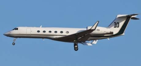 Le jet privé de Lionel Messi atterrit d'urgence à Zaventem