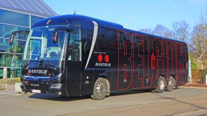 Dit is de nieuwe luxebus van de Rode Duivels