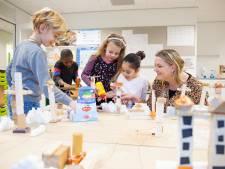 Bouwen op basisschool de Bijenkorf: 'Kind niet altijd achter een boek zetten'