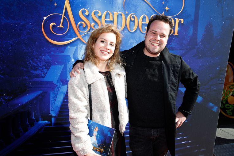 Ketnet-wrapper Sander Gilles nam goede vriendin Sofie mee.