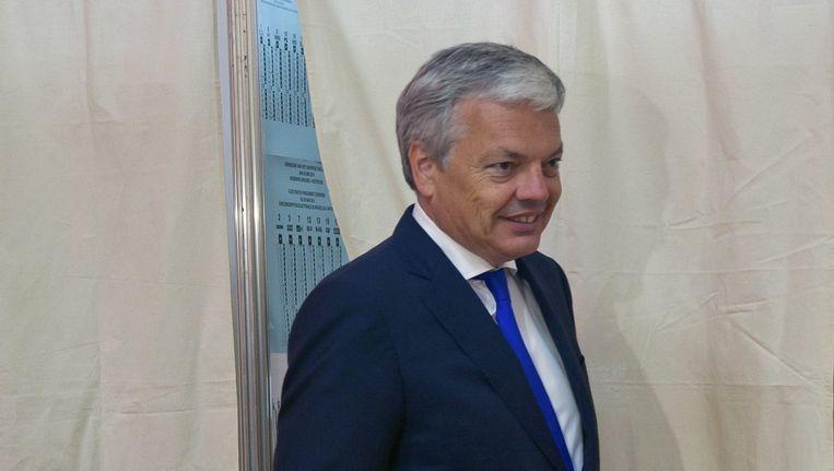 MR-lijsttrekker Didier Reynders.