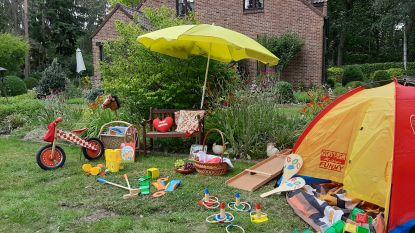 Zomervakantie in eigen tuin? Mieke creëerde een kinderparadijs voor nog geen 82 euro