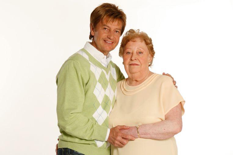 Willy en zijn moeder, tien jaar geleden.