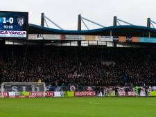 Harde kern Willem II-aanhang waarschuwt relschoppers, 'Vernielingen tolereren wij niet'