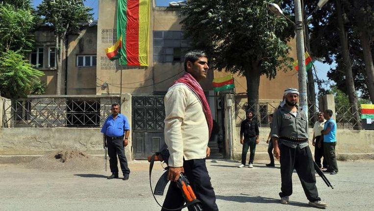 Syrische Koerden hebben de controle over Jinderes, vlakbij Aleppo. Beeld AFP