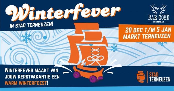 Affiche Winterfever Terneuzen.