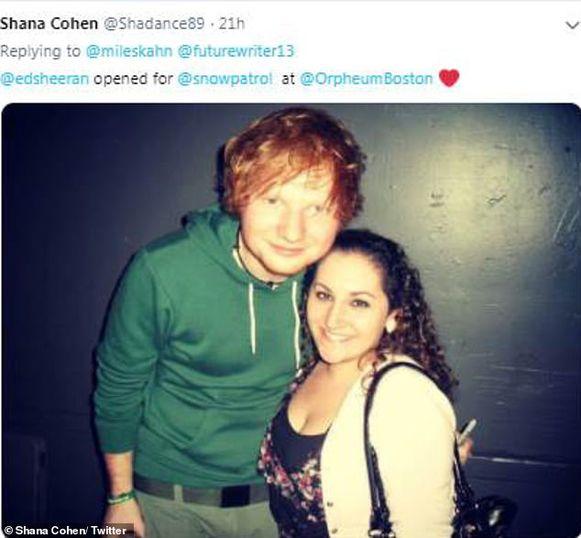 Ed Sheeran toen hij nog voorprogramma's verzorgde.