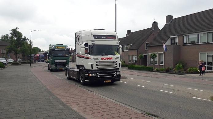 Veerse Truckrun in het Spant.
