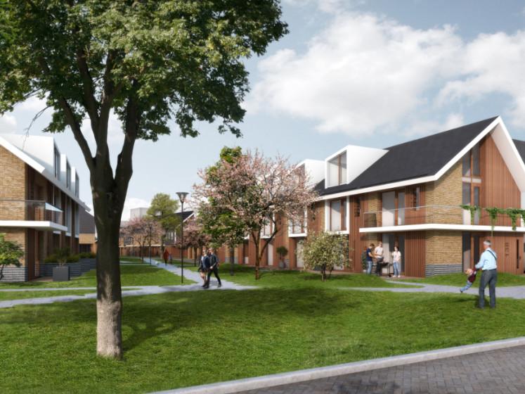 Eindelijk plan voor Capelse Hoven: verpauperde flats maken plaats voor groene nieuwbouwwijk