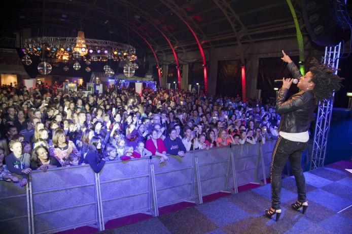 Een optreden van Leona was de laatste activiteit in de Winterkoepelhal op 13 januari.