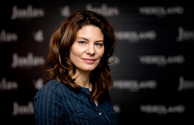 Gouden Kalf winnaar Rifka Lodeizen. Beeld ANP