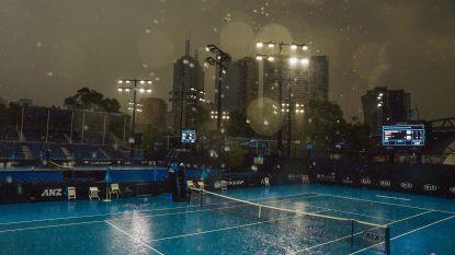 Geen tennis op Australian Open door slechte luchtkwaliteit en... regen, matchen Darcis en Minnen uitgesteld naar morgen