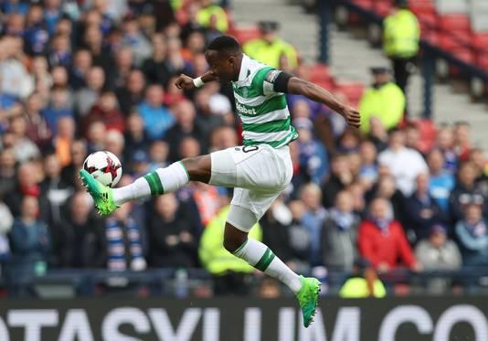Moussa Dembélé in het shirt van Celtic