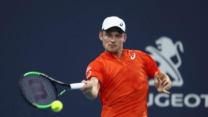 David Goffin zakt naar 22ste plaats op ATP-ranking - Status quo voor Elise Mertens