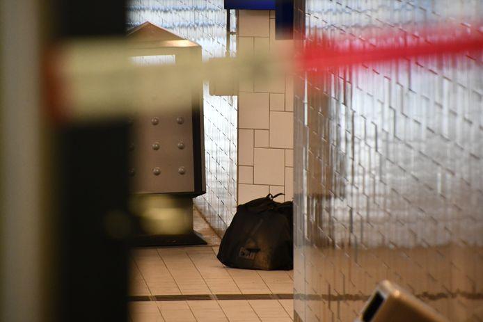 Het station in Goes is ontruimd vanwege deze achtergelaten tas.