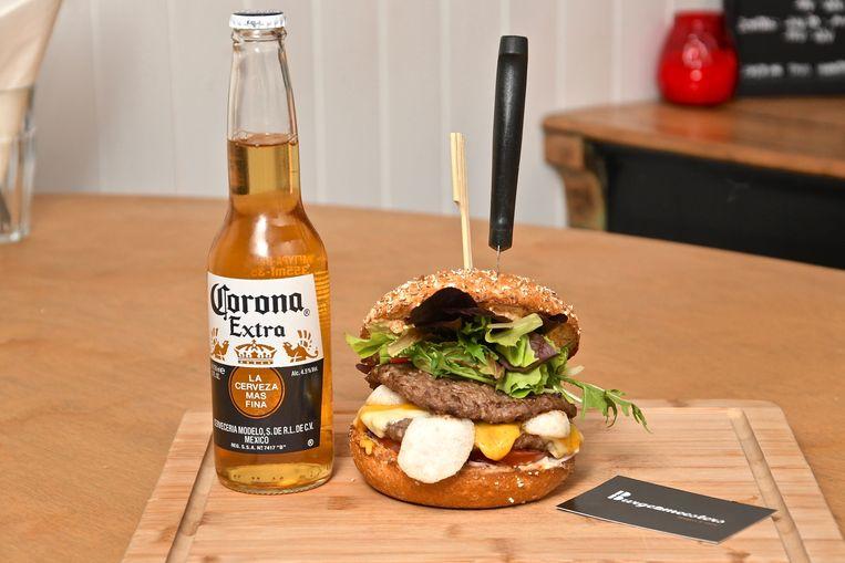 De coronaburger