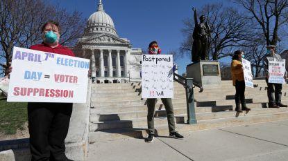 Republikeinen halen slag thuis: ondanks coronacrisis vandaag toch voorverkiezingen in Wisconsin