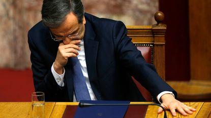 Griekenland stort opnieuw in politieke crisis