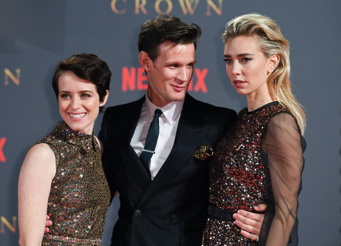 Claire Foy, Matt Smith et Vanessa Kirby