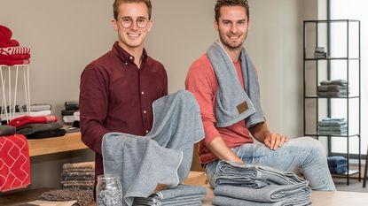 Droog je eens af met oude jeansbroek