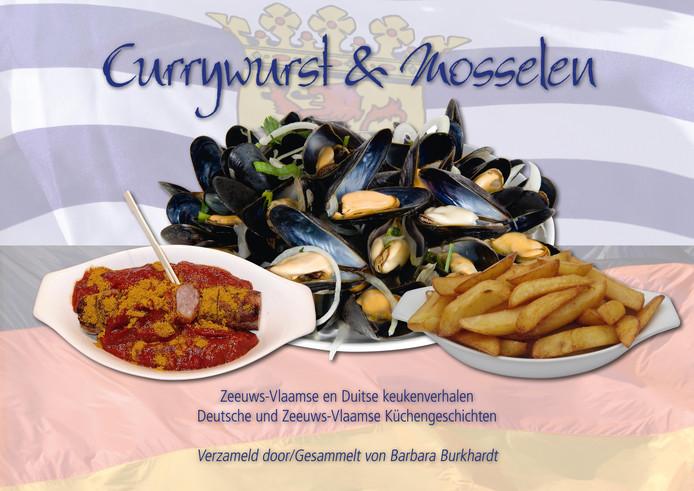 Het kookboek 'Currywurst en Mosselen'.