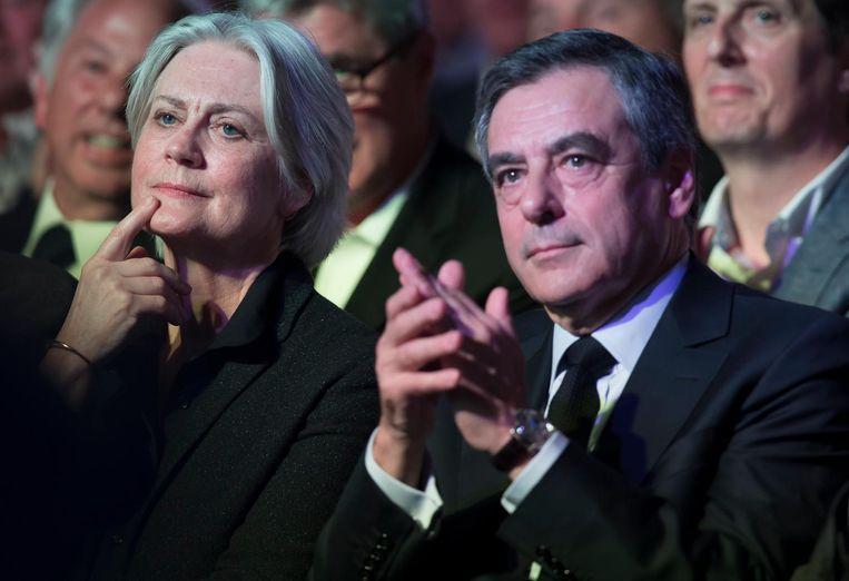 Francois Fillon en Penelope Beeld epa