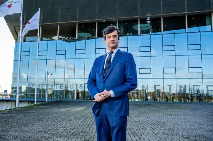 Burgemeester Pieter van de Stadt van de gemeente Lansingerland.