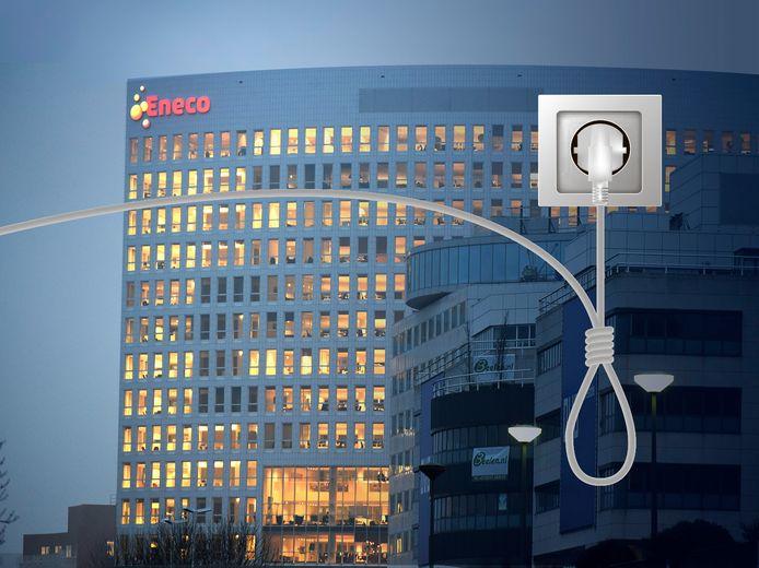 Eneco's hoofdkantoor in Rotterdam.