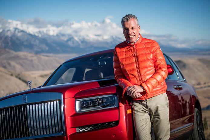 Torsten Müller-Ötvös, de CEO van Rolls-Royce, en de Cullinan: ,,Onze klanten vroegen erom.''