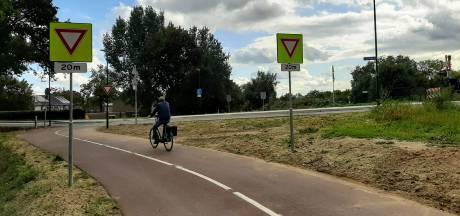 Snelfietspad Cuijk: Zorg over veiligheid van fietsers vlak bij spoor