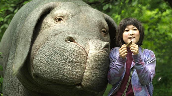 "Image tirée du film ""Okja""."