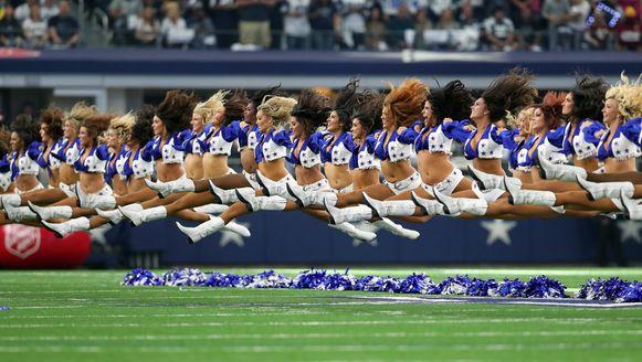 De cheerleaders van de Dallas Cowboys.