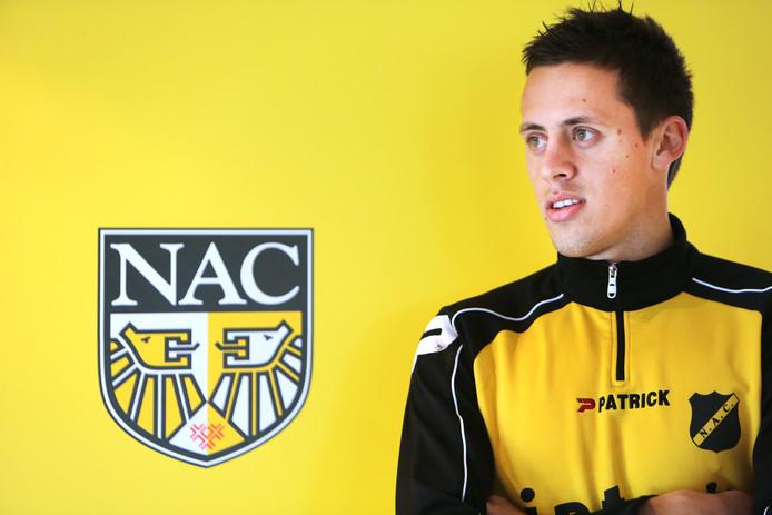 Uroš Matic begin 2014 bij zijn aankomst in Breda.