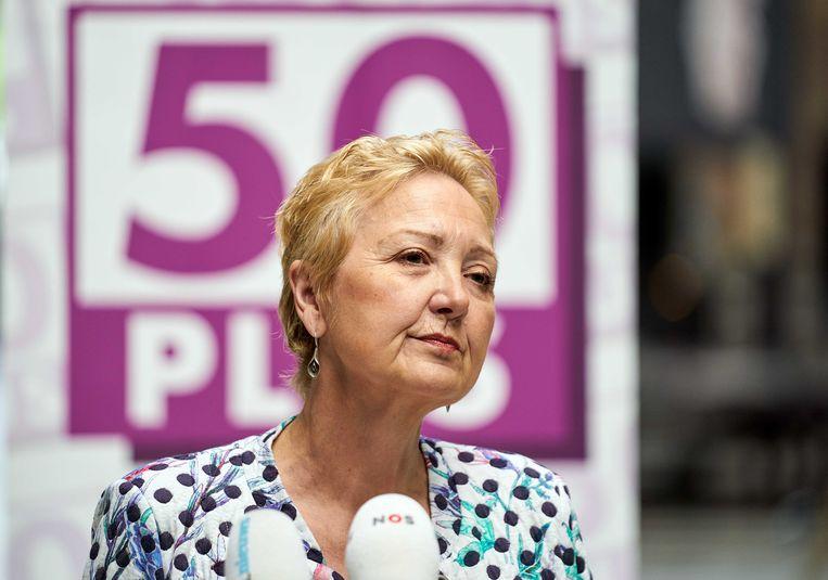 Volgens 50Plus-Kamerlid Van Brenk is Krol 'een zetelrover'. Beeld ANP